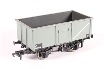 37-250E 16 Ton steel mineral wagon with top flap doors, BR grey