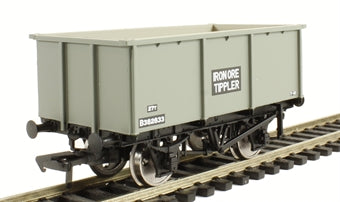 37-275F BACHMANN 27T Steel Tippler Wagon  BR Grey