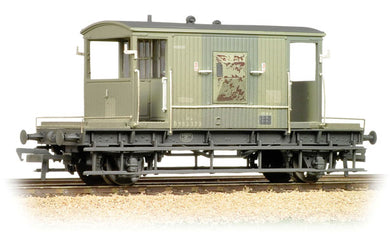 37-530 BACHMANN 20T Brake Van BR Grey (weathered)