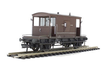 37-531 BACHMANN 20T Brake Van BR Bauxite (weathered)