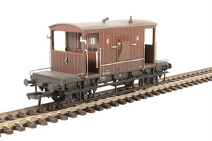 37-537D 20T Brake Fitted BR Bauxite Late Weathered