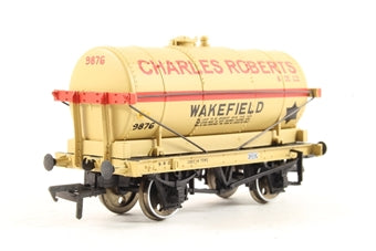 37-650K BACHMANN 14 Ton Tank Wagon 9876 in 'Charles Roberts & Co. Ltd' Buff Livery - Collectors Club Model