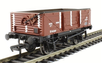 37-879 12T Shock Absorbing Open Wagon BR Bauxite