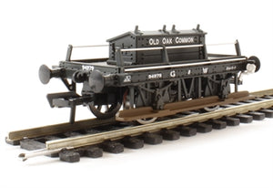 "38-677 BACHMANN GWR Shunters Truck, GWR Grey ""Old Oak Common"""