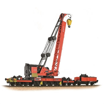 38-803 Bachmann 45-ton Ransomes and Rapier crane in BR red