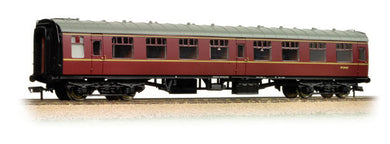 39-026J BR Mk 1 Corridor 2nd Maroon weathered