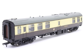 39-263 Mk1 Restaurant Miniature Buffet Car, RMB, BR Western Region, chocolate and cream livery