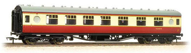 39-465 LMS 60 ft Porthole Corridor Composite in BR crimson & cream