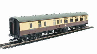 39-079 Bachmann Mk1, Brake corridor BSK, BR Western Region, chocolate and cream livery