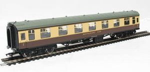 39-254 Mk1 Restaurant Car, RFO, BR Western Region, chocolate and cream livery