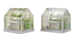 44-515 Bachmann Scenecraft Two Greenhouses