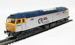"4664 Heljan Class 47/0 47200 ""The Fosse Way"" in Cotswold Rail silver"