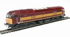 "4698 Heljan Class 47/7 47787 ""Windsor Castle"" in EWS red"