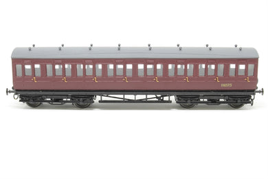 5710 RATIO Midland Low Roof Suburban Bogie Coach, all third 8 compartment kit
