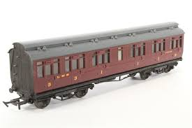 5722 RATIO Midland Clerestory Roof non corridor Bogie composite Coach kit