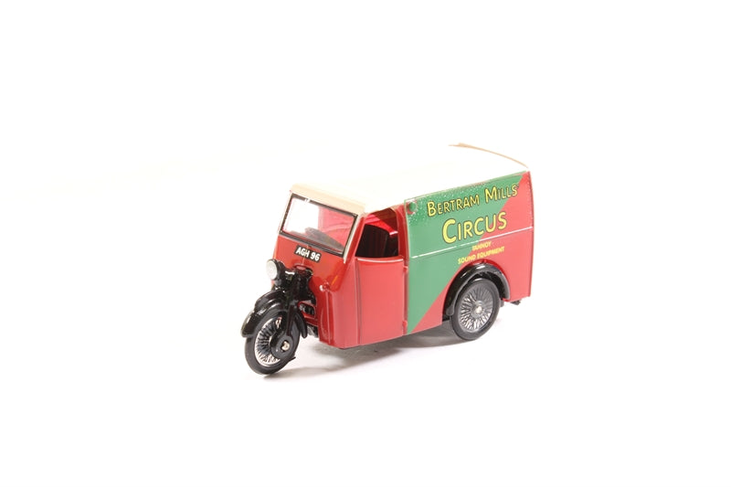 76TV001 Tricycle Van Bertram Mills