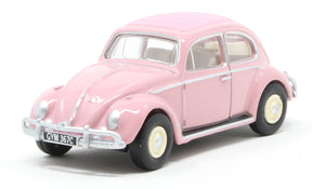 76VWB011UK VW Beetle Pink UK Reg