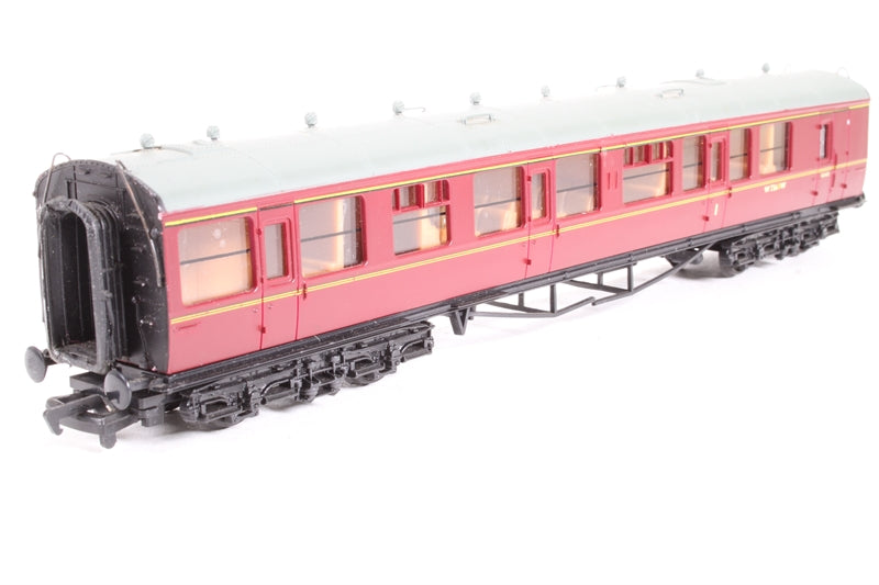 937308	Collett 60' 1st/2nd Brake Coach B.R. Maroon