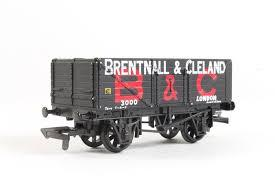"937387 Mainline 7 Plank Wagon, ""Brentnall and Clelland"