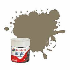 AB2412 Humbrol Acrylic 14ml Tinlet BR Coach Roof Grey