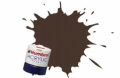 AB2415 Humbrol Acrylic 14ml Tinlet Pullman Umber Brown