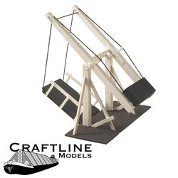 AK1 Lift Bridge (working model of a manually operated wooden lift bridge)