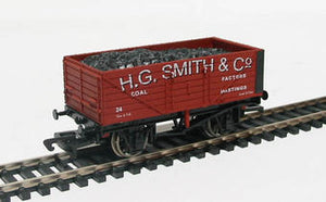 "Dapol B520 7-plank open coal wagon ""H.G.Smith & Co."""