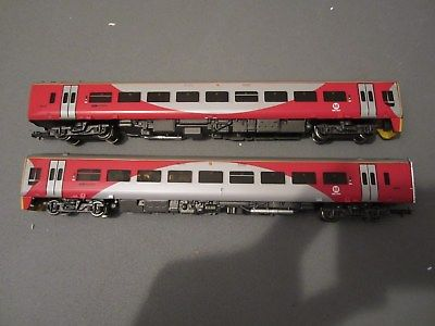 31-509 Bachmann Class 158 DMU Northern Rail Metro livery, 2 car set