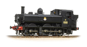 31-636A BACHMANN 64XX 0-6-0 Pannier Tank  No. 6422    BR Black livery, Early Crest.  DCC Ready
