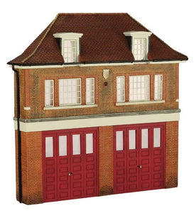 44-240 BACHMANN Low relief Fire Station