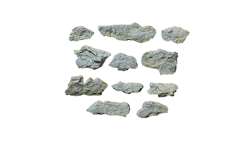 C1231 WOODLAND SCENICS Surface rocks, Rock Mold