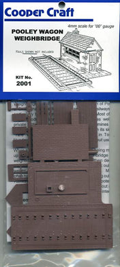 CC2001 Pooley Rail Weighbridge Kit