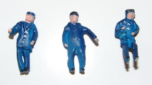DA102 LOCOMOTIVE CREW (3) FIGURE SET