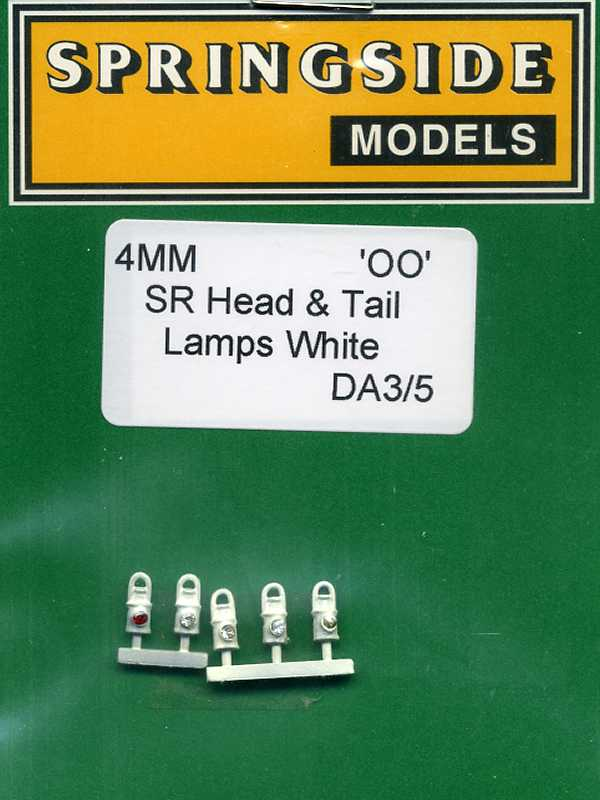 DA3/5 SR Head & Tail Lamps White (5)