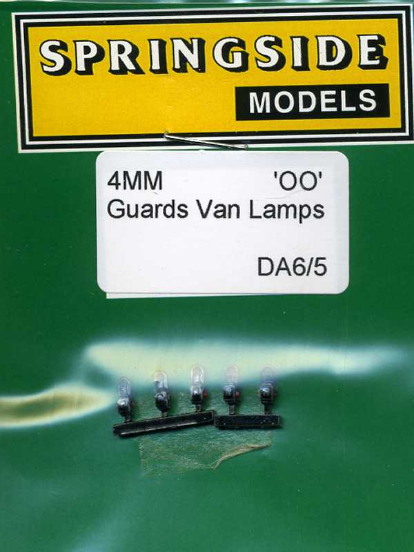 DA6 Guards Van Lamps Black (5)
