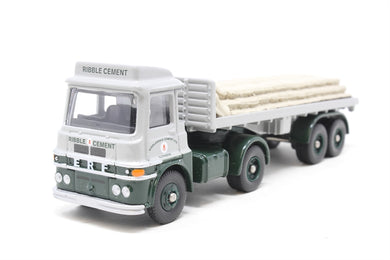 DG186008 Corgi (LLEDO) Trackside ERF LV flatbed cement bags, Ribble cement