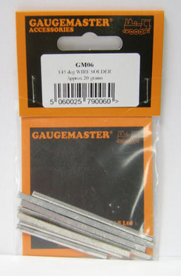 GM06 Gaugemaster  145 degree Low Melt Solder