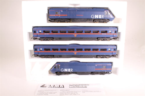 L149872 Lima CollectionClass 43 HST in GNER livery 4 car pack 43096 & 43110