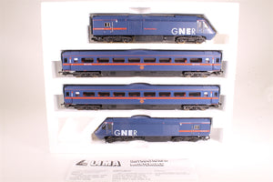 "L149872 Lima CollectionClass 43 HST in GNER livery 4 car pack 43096 & 43110 ""The Great Racer"", 4 car train pack"