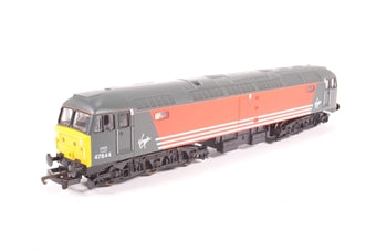 L204621 Lima Class 47 47844 in Virgin livery