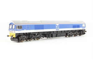 "L204646 Lima Class 59 59005 ""Kenneth J Painter"" in Foster Yeoman silver and blue"