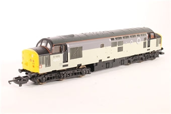 L204647 Lima Class 37 37605 in EPS triple grey livery with tunnel motifs