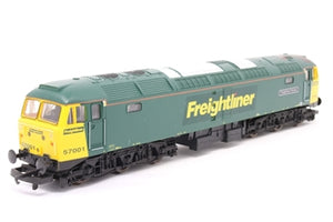 "L204649 Lima Class 57 57001 ""Freightliner Pioneer"" in Freightliner green limited edition # 714 of 750"