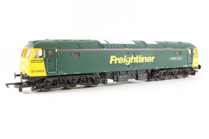"L204686 Lima Class 57 57002 ""Freightliner Phoenix"" in Freightliner green livery"