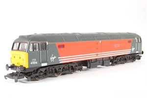 "L204761 Lima Class 47 47814 ""Totnes Castle"" in Virgin livery"