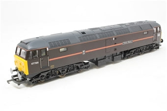 L204795 Lima Class 47 47799 Prince Henry in Royal Train livery (EWS)