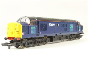 L204796 Lima Class 37 37609 in DRS livery