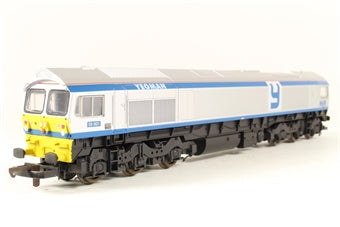 L204838A6 Lima Class 59 59002 Yeoman Enterprise in Foster Yeoman silver and blue