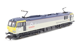 "L204870 Lima Class 92 92022 ""Charles Dickens"" in Railfreight Distribution livery"