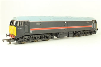L204898 Lima Class 47/7 47703 in Fragonset black livery